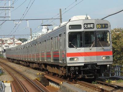 07.11.05 東急大井町線 101ゥ 8091F