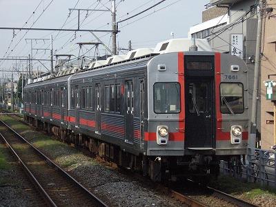 07.11.05 多摩川線 25ゥ 7601F
