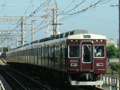 07.08.16 阪急神戸線 5001F 普通梅田