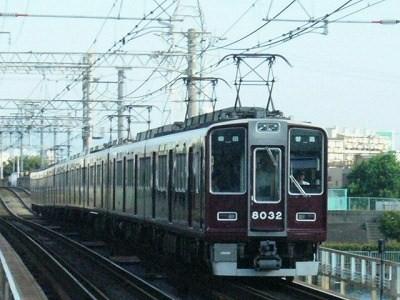 07.08.16 阪急神戸線 8032F 普通梅田