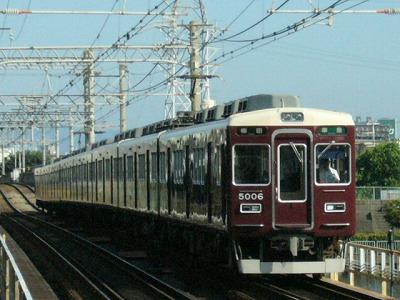 07.08.16 阪急神戸線 5006F 準急梅田