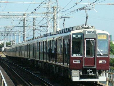 07.08.16 阪急神戸線 8200F 通勤急行梅田