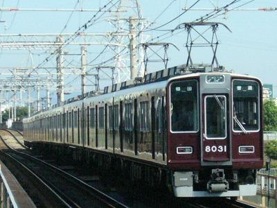 07.08.16 阪急神戸線 8031F 普通梅田