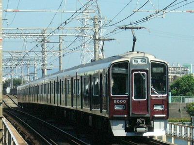 07.08.16 阪急神戸線 9000F 普通梅田