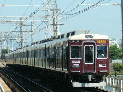 07.08.16 阪急神戸線 5008F 通勤急行梅田