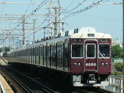 07.08.16 阪急神戸線 6050F 普通梅田