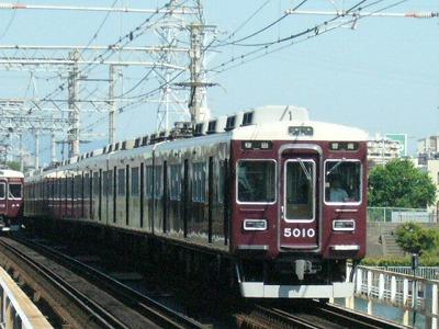 07.08.16 阪急神戸線 5010F 普通梅田