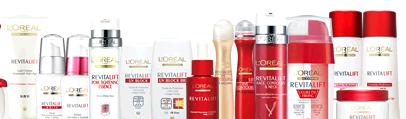 製品ラインナップ   リバイタリフト   世界で一番売れているエイジングケア ブランド ロレアル パリ