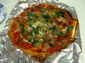 ランチピザ1