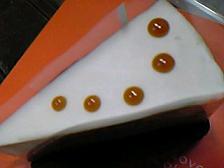 メイプルレアチーズケーキ