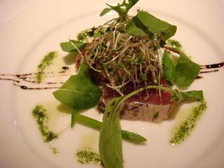 春鰹と季節野菜のサラダ仕立て