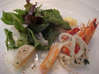 魚介類のマリネ サラダフリュイドメール ビストロ風