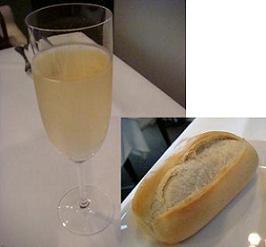 シャンパン・フランスパン
