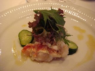 焼きタラバ蟹のサラダ アロマフレスカ風