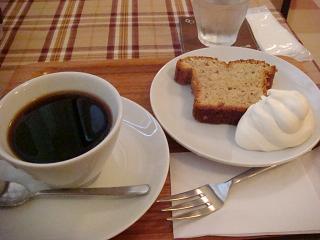 ケニアコーヒー&ナッツのパウンドケーキ