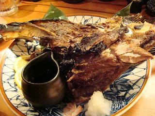 マグロ カマ焼き