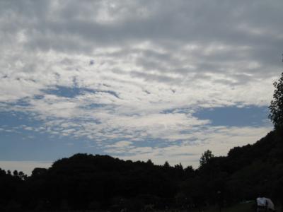 10月6日の荻野の空