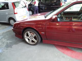 車検前の給油
