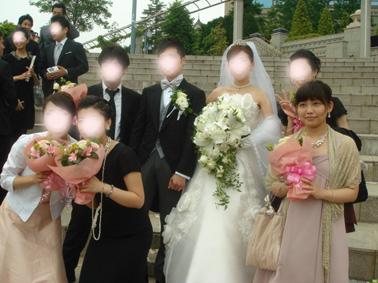 アヤちゃん結婚式④