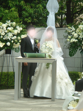 アヤちゃん結婚式③