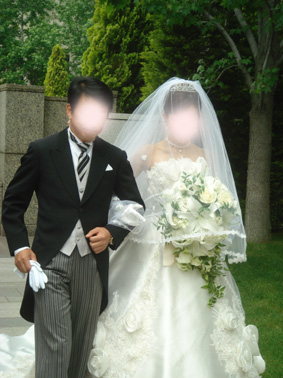 アヤちゃん結婚式②