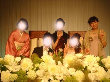 アヤちゃん結婚式⑧