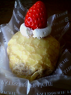 ケーキクレープ