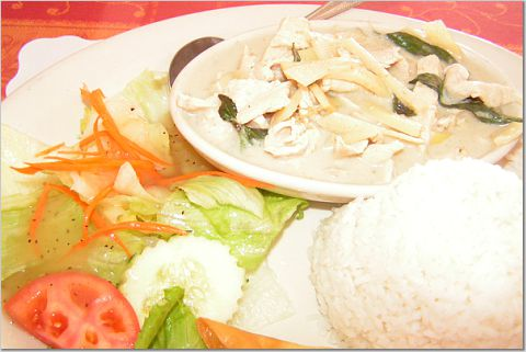 Green Curry at Thai Rama