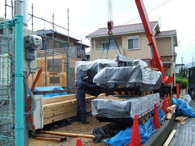 造作材の搬入2