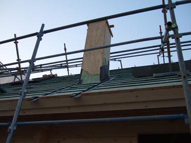 南側の屋根