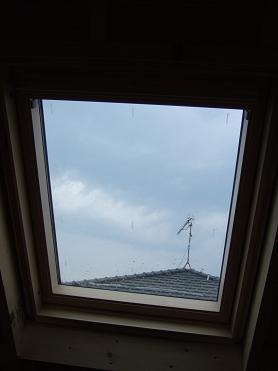 天窓でも換気
