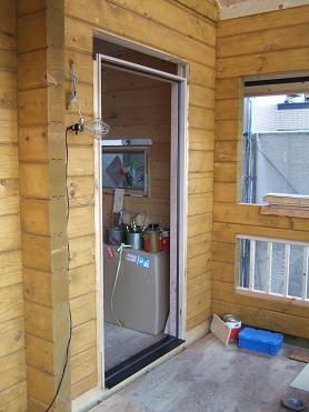 玄関ドアの枠