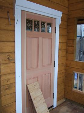 玄関ドアの外部ケーシング