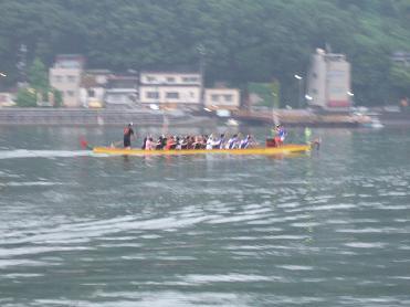 ドラゴンボート海上練習