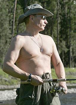 Muscle Putin