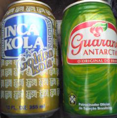 ガラナ&インカコーラ