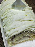 料理教室で作ったロールケーキ