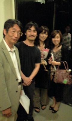 増山さん、亀田君