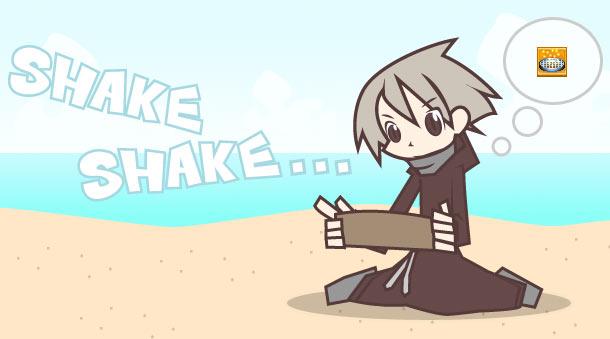 shake shake ...