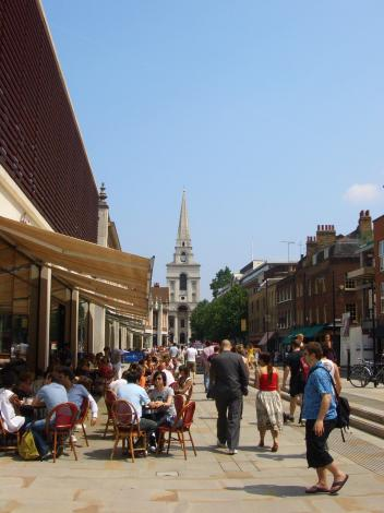 Old Spitalfields周辺