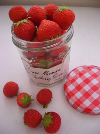 小粒苺が好き。