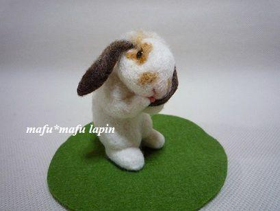 羊毛うさぎ1