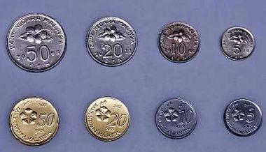 マレーシア新デザイン硬貨