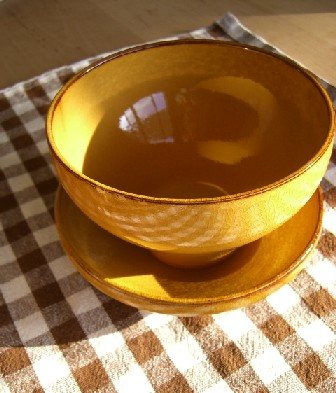 Mのお皿2