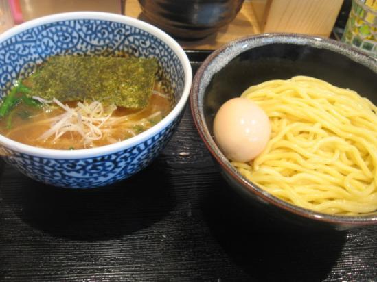 半熟濃厚魚介つけ麺+(3)