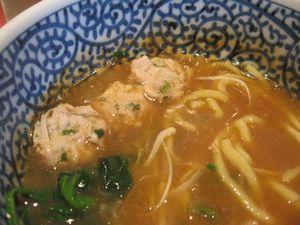 半熟濃厚魚介つけ麺+(1)