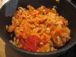 バルサミコライス焦がしチーズのせ+(1)