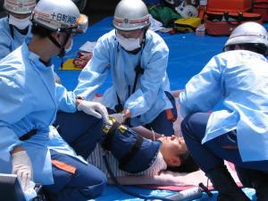 防災訓練2006-3