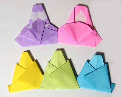 折り方 お雛様 折り方 : 折り紙 のんびり前進じたばた ...