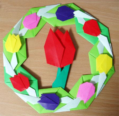 クリスマス 折り紙 チューリップ 折り紙 : mayubi.blog48.fc2.com